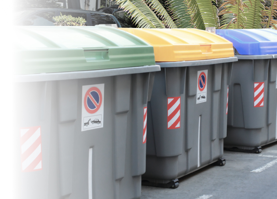 Trash & recycling consolidation services